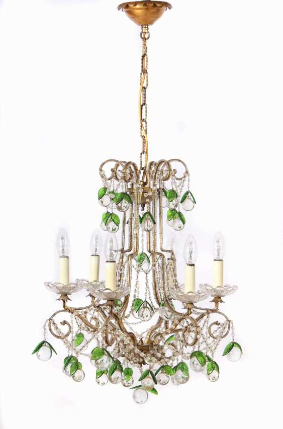 Chandelier with a pair of wall chandeliers, 2nd half of the 20th century - photo 2