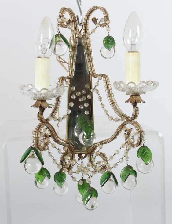 Chandelier with a pair of wall chandeliers, 2nd half of the 20th century - photo 3