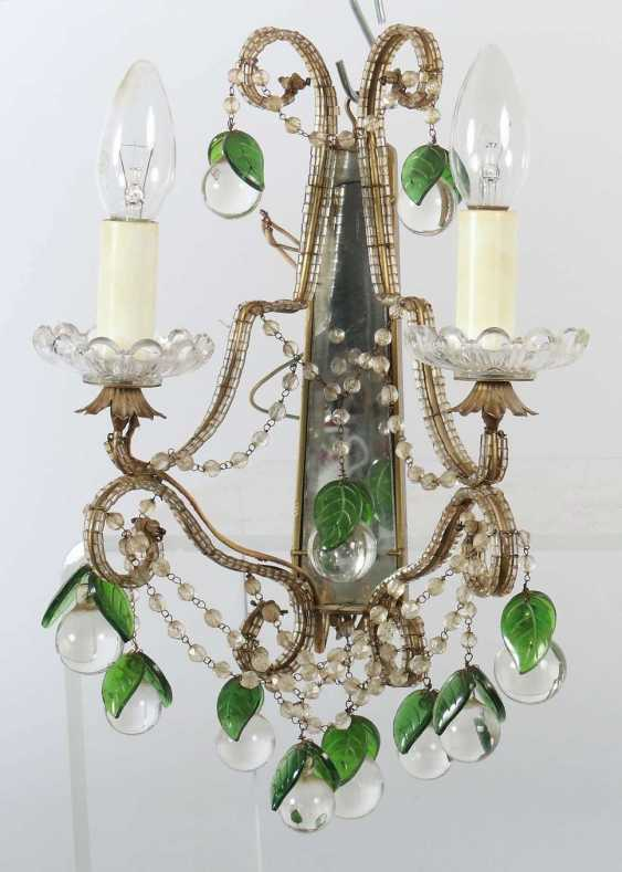 Chandelier with a pair of wall chandeliers, 2nd half of the 20th century - photo 4