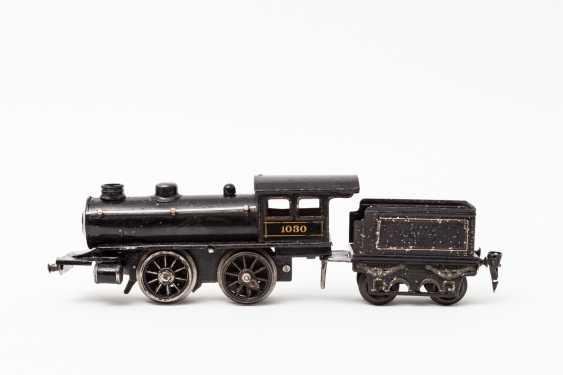MARKLIN clockwork steam locomotive probably R 1030, track 0, 1907-1909, - photo 1