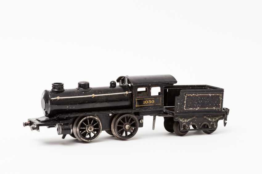 MARKLIN clockwork steam locomotive probably R 1030, track 0, 1907-1909, - photo 2