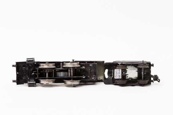 MARKLIN clockwork steam locomotive probably R 1030, track 0, 1907-1909, - photo 3