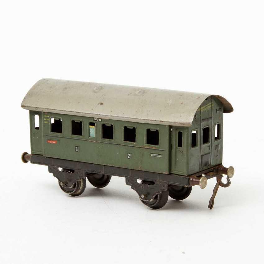 FLEISCHMANN passenger train, on track 0, - photo 4
