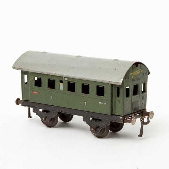 FLEISCHMANN passenger train, on track 0, - photo 5