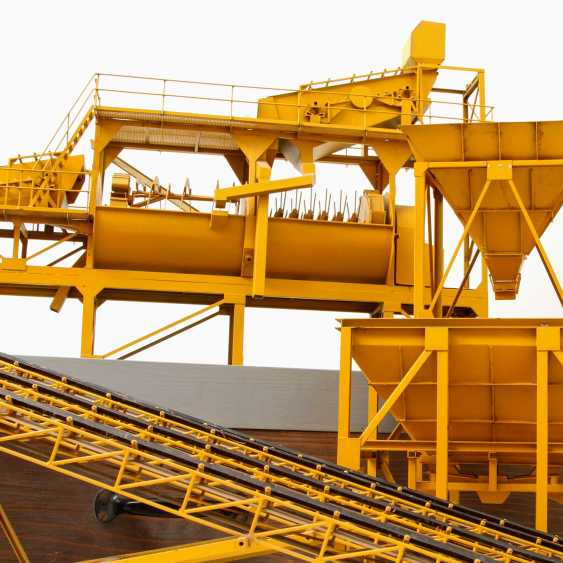 Large MODEL of A gravel processing plant, - photo 4