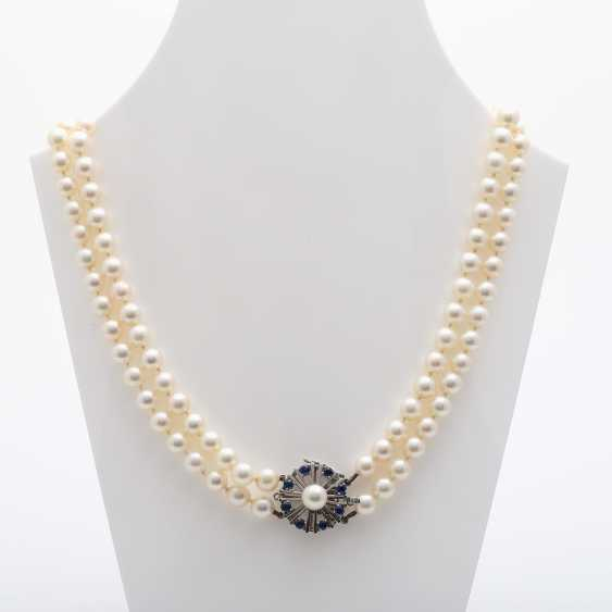 2-row pearl necklace - photo 3