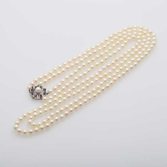 2-row pearl necklace - photo 4