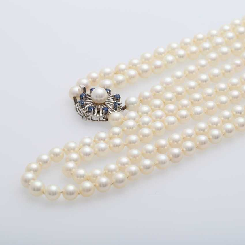 2-row pearl necklace - photo 5