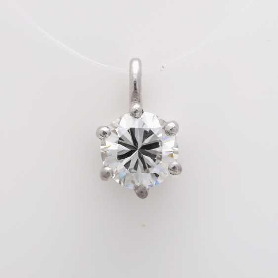 Small pendant with brilliant - photo 1