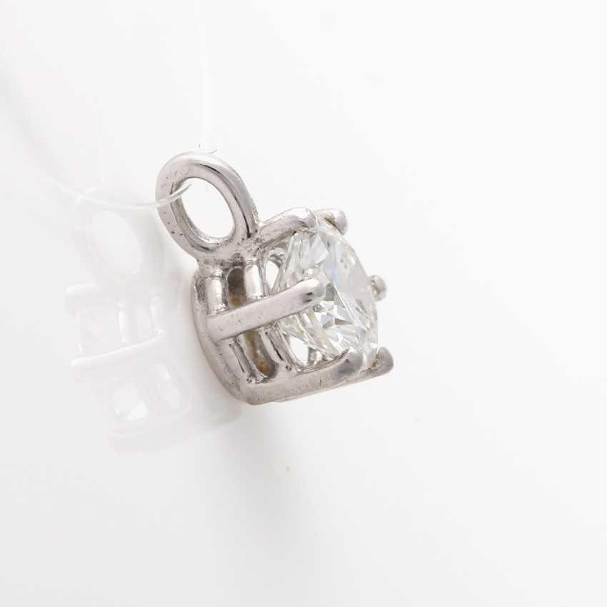 Small pendant with brilliant - photo 3