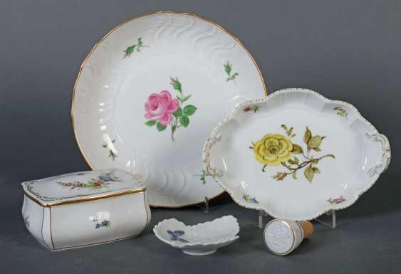 Fünf Teile Porzellan Meissen - photo 1