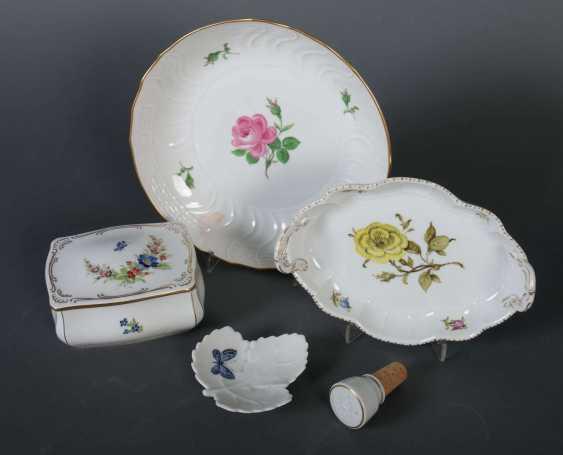 Fünf Teile Porzellan Meissen - photo 2