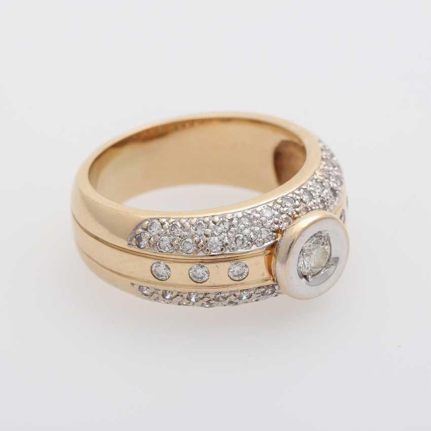 Ladies ring with diamonds, - photo 2