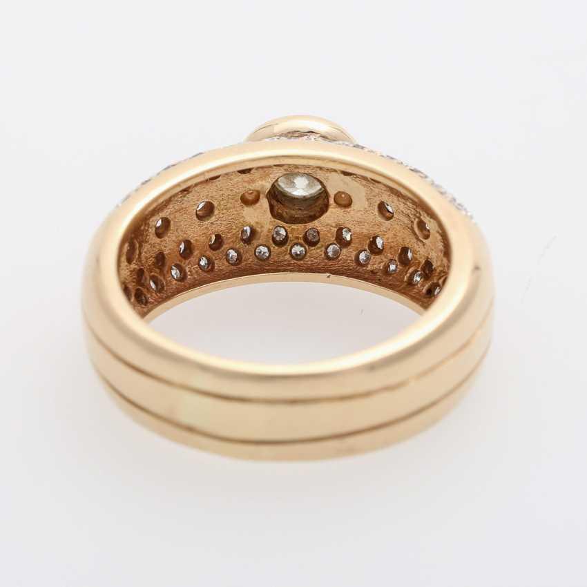 Ladies ring with diamonds, - photo 4