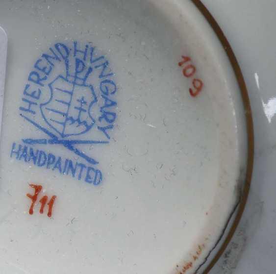 11 Teile Porzellan Herend - photo 3