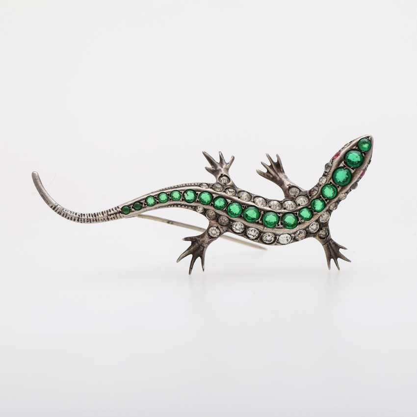 "Brooch ""Lizard"" - photo 1"