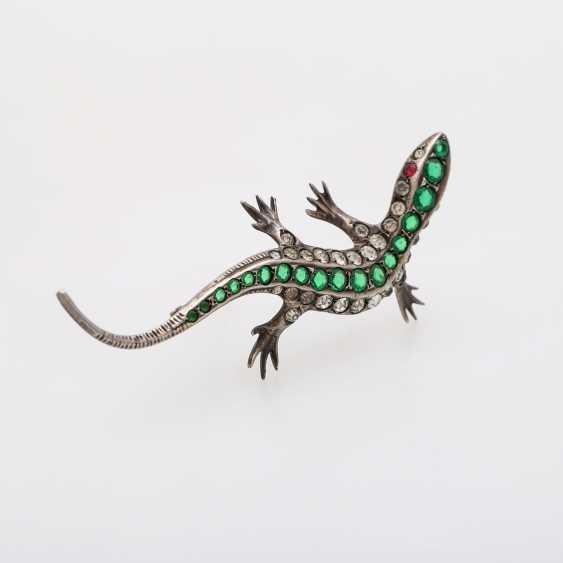 "Brooch ""Lizard"" - photo 2"