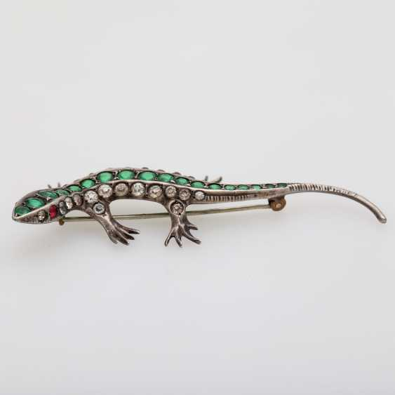 "Brooch ""Lizard"" - photo 4"