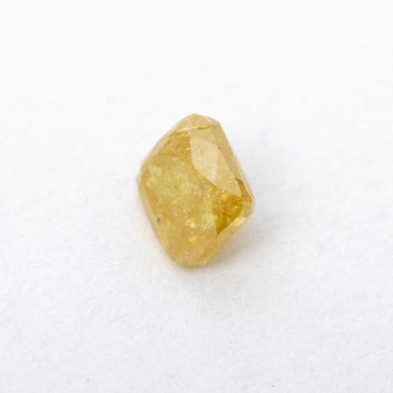 Loose, natural, yellow diamond, 0,41 CT., - photo 2