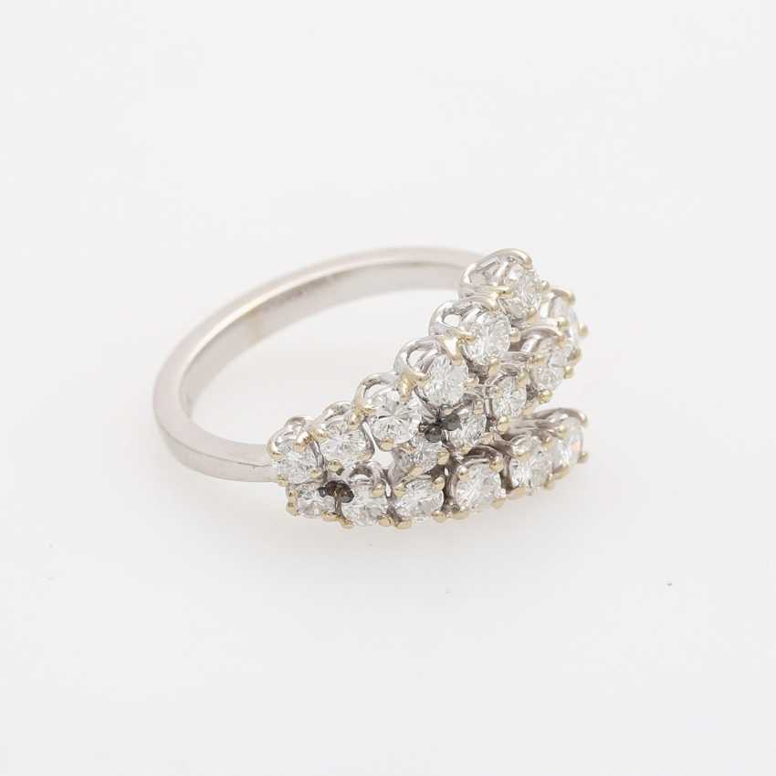 Ladies ring with brilliants - photo 2