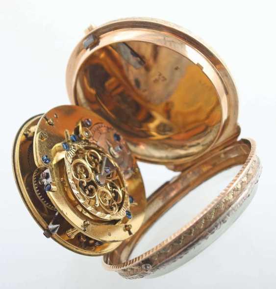 Gold-Spindeltaschenuhr Frankreich - photo 4