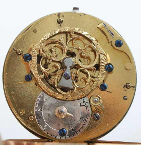 Gold-Spindeltaschenuhr Frankreich - photo 6