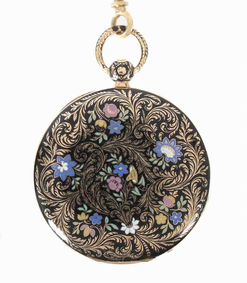 Damentaschenuhr Mitte 19. Jahrhundert - photo 2