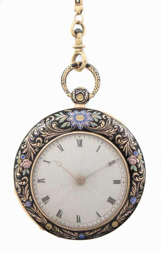 Damentaschenuhr Mitte 19. Jahrhundert - photo 3