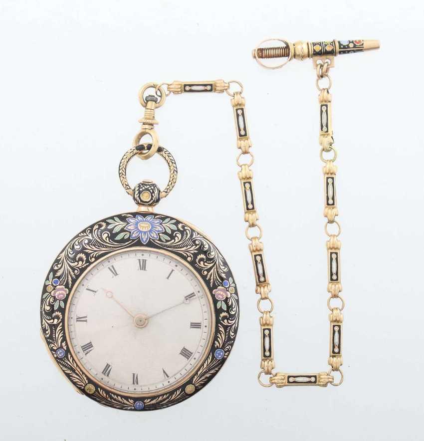 Damentaschenuhr Mitte 19. Jahrhundert - photo 6