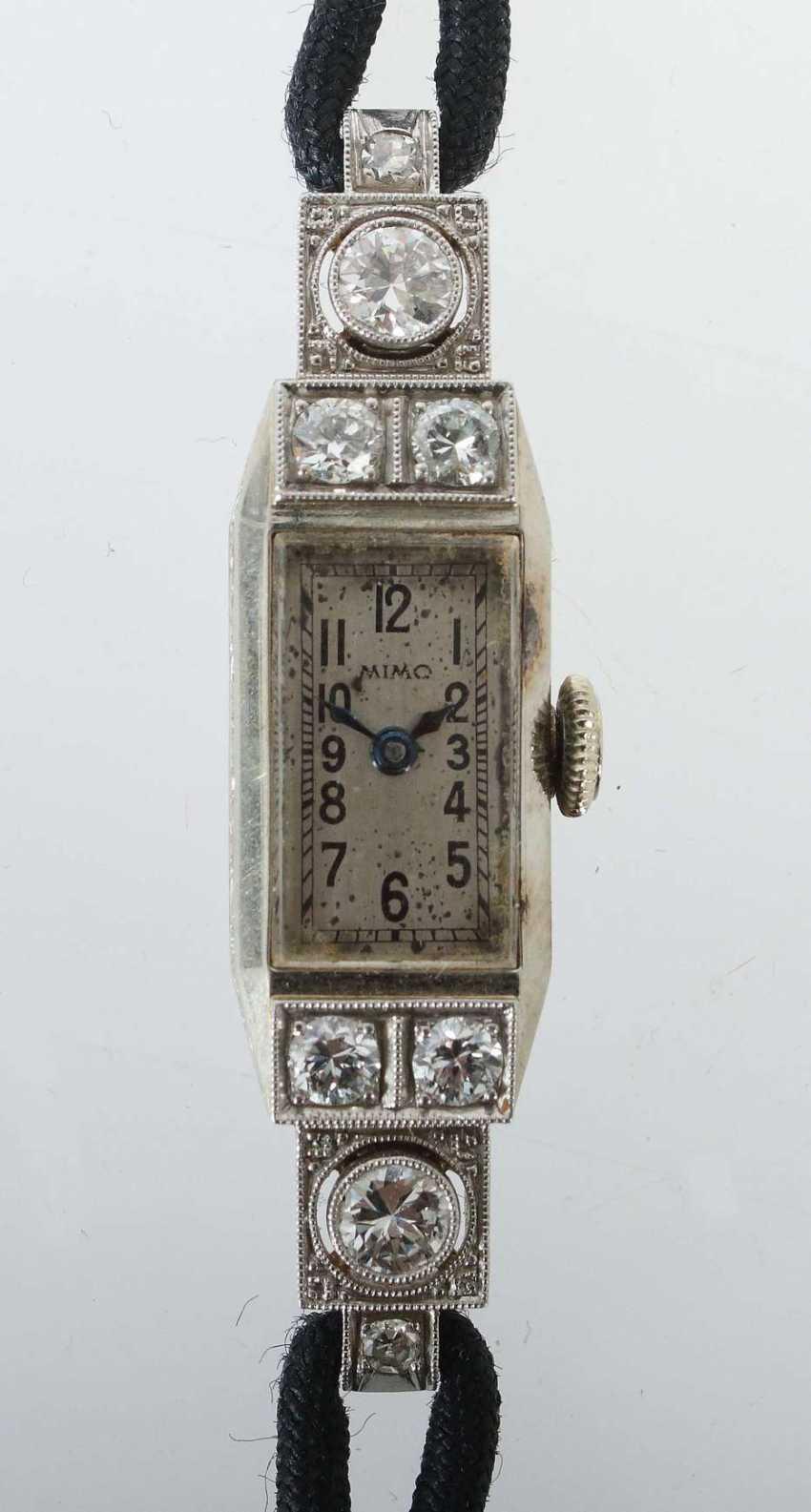 Art-Déco-Damenarmbanduhr Um 1930/40 - photo 1