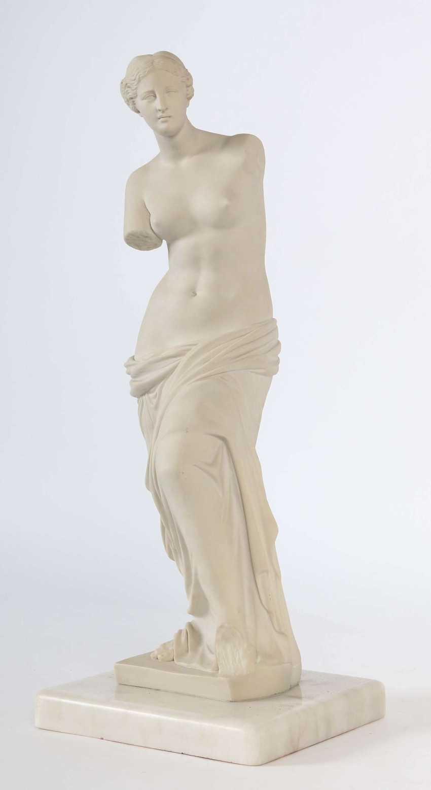 Bildhauer des 19./20. Jahrhundert ''Venus von Milo'' - photo 2