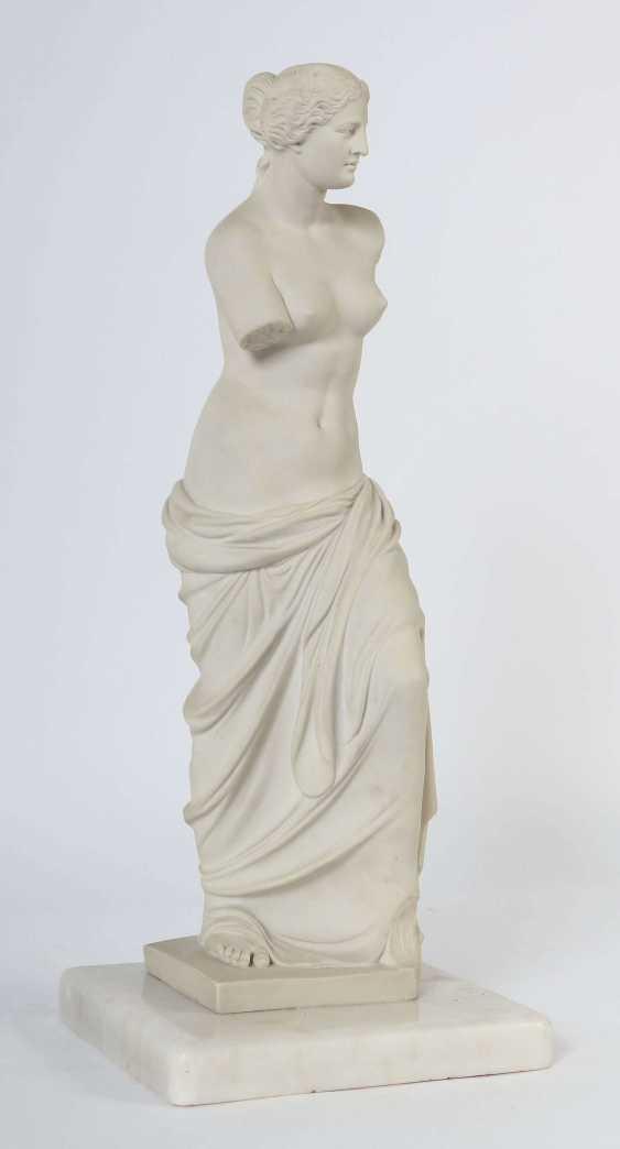 Bildhauer des 19./20. Jahrhundert ''Venus von Milo'' - photo 3