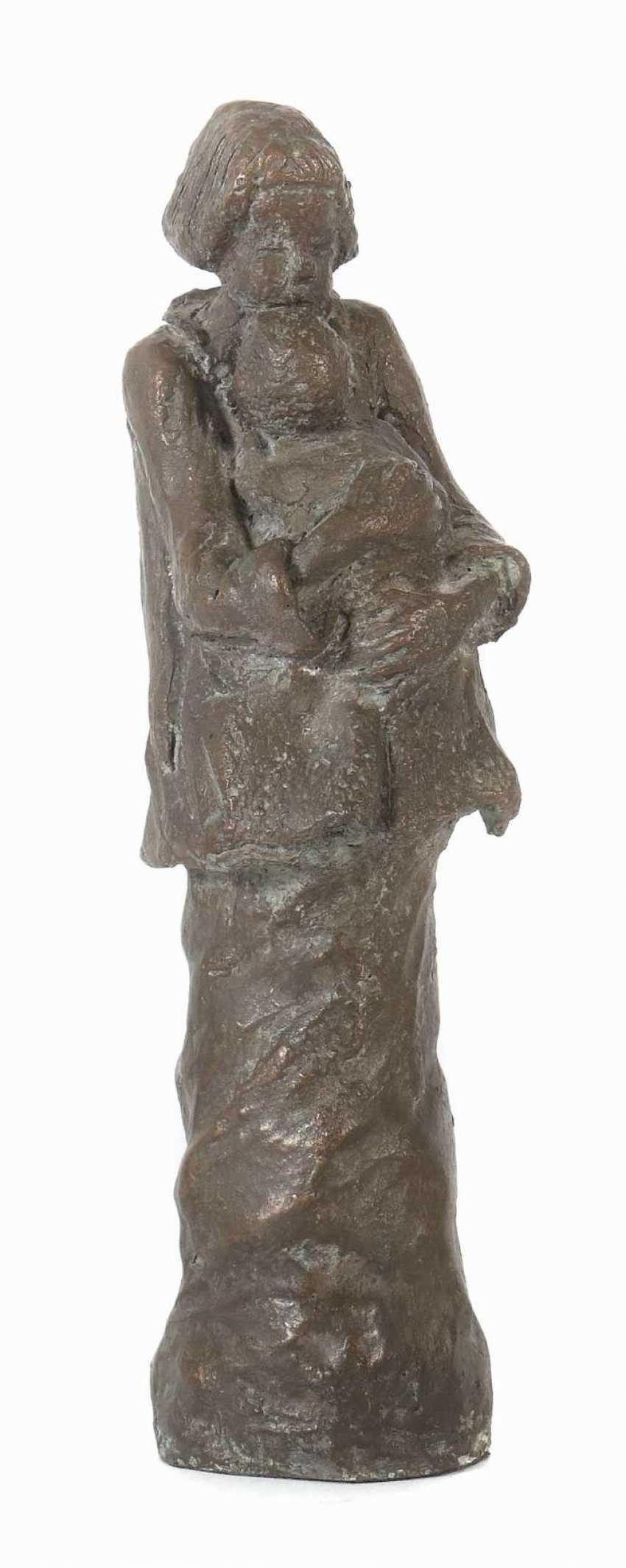 Bildhauer des 20. Jahrhundert ''Mutterliebe'' - photo 1
