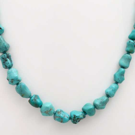 Vintage 2 Stone Chains: 1 Turquoise Chain - photo 2