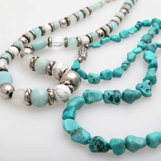 Vintage 2 Stone Chains: 1 Turquoise Chain - photo 4