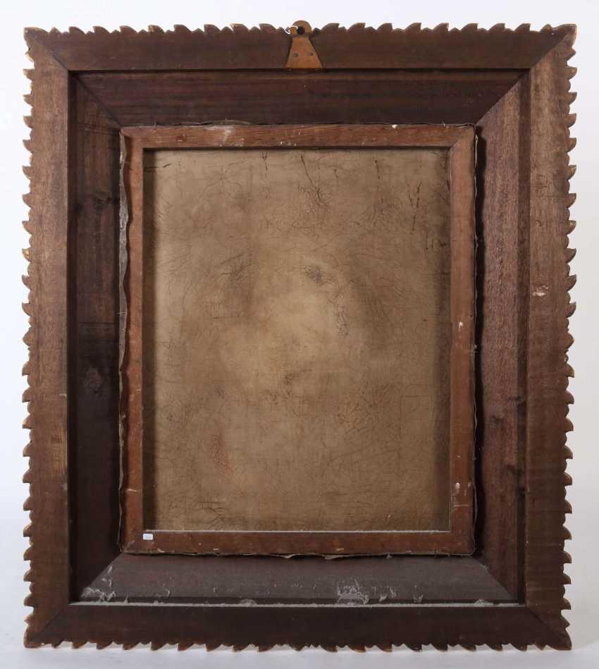 Sakralmaler des 18./19. Jahrhundert wohl Spanien. ''Maria lactans'' - photo 3