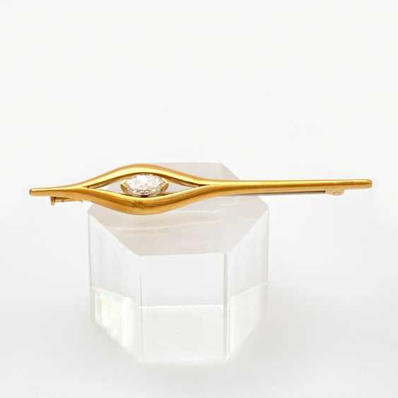 Brooch In Yellow Gold 18 K - photo 1