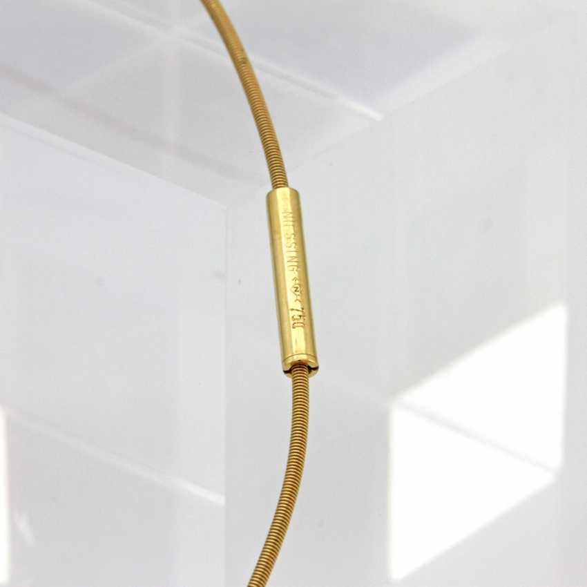 NIESSING choker yellow gold 18 K with various Einhängern; - photo 4
