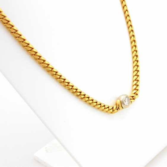 Necklace Yellow Gold / 18 K White Gold - photo 3