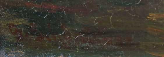 Schönleber, Gustav Bietigheim 1851 - 1917 Karlsruhe, Maler und Zeichner, Schüler von Kurtz in Stuttgart und von A. Liers in München, seit 1880 Prof. für Landschaftsmalerei an der Akad. Karlsruhe. ''Hölländische Stadtansicht mit Gracht'' - photo 3