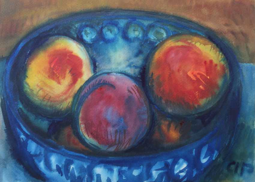 Monogrammist AP ''Früchtestillleben'' - photo 1