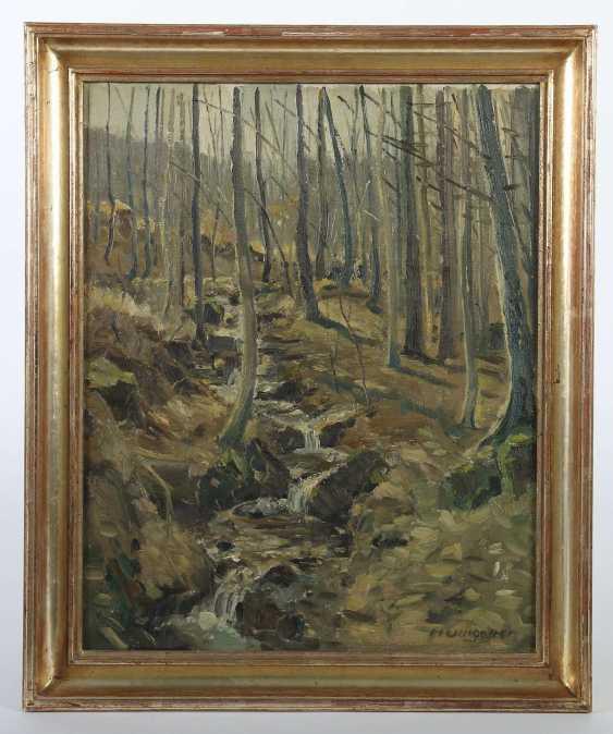 Umgelter, Hermann Stuttgart 1891 - 1962, Maler in Stuttgart-Botnang, Stud. in München. ''Waldinneres'' - photo 2