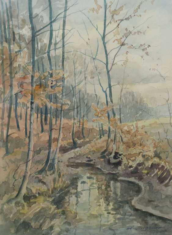 Umgelter, Hermann Stuttgart 1891 - 1962, Maler in Stuttgart-Botnang, Stud. in München. 3 Landschaftdarstellungen - photo 5