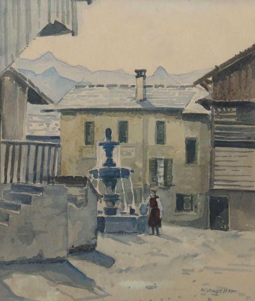 Umgelter, Hermann Stuttgart 1891 - 1962, Maler in Stuttgart-Botnang, Stud. in München. 3 Landschaftdarstellungen - photo 6