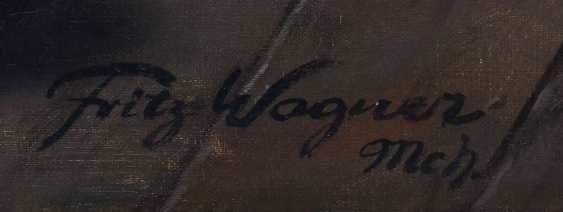 Wagner, Fritz München 1896 - 1939 ebenda, war Maler in Frauenchiemsee. ''Herrenrunde'' - photo 4