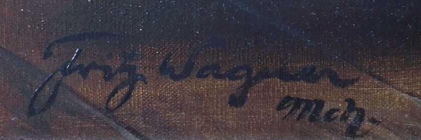 Wagner, Fritz München 1896 - 1939 ebenda, war Maler in Frauenchiemsee. ''Tischgesellschaft in altholländischer Stube'' - photo 3