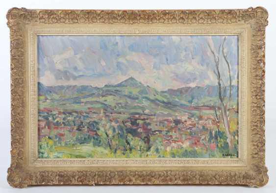 Weber, Karl 1899 - 1978, Landschaftsmaler. ''Albtrauf'' - photo 2