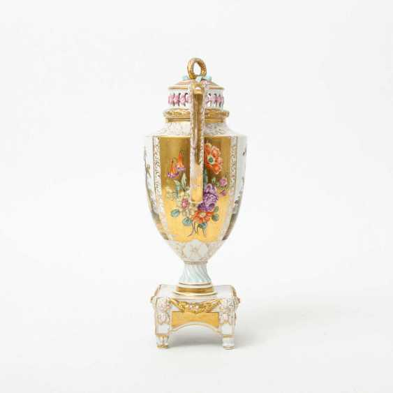 Probably the JOSEPH BOX Sophienau Potpourri Vase, early 20th. Century - photo 5