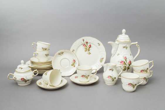 ROSENTHAL coffee service for 6 persons 'Sanssouci Rose', 20. Century - photo 1