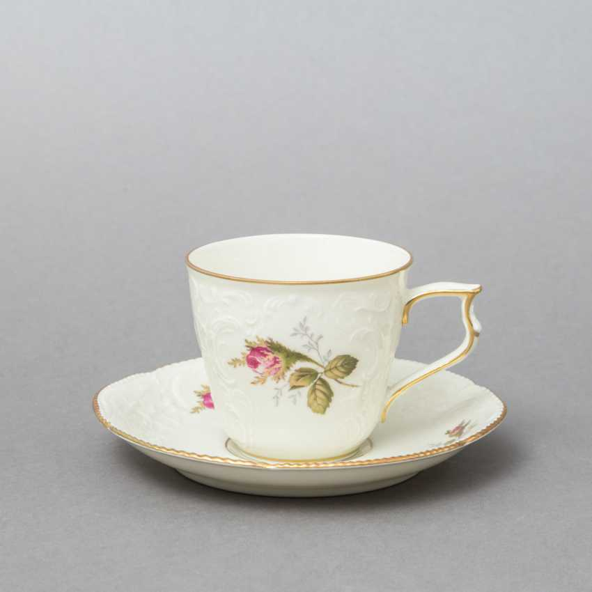 ROSENTHAL coffee service for 6 persons 'Sanssouci Rose', 20. Century - photo 3